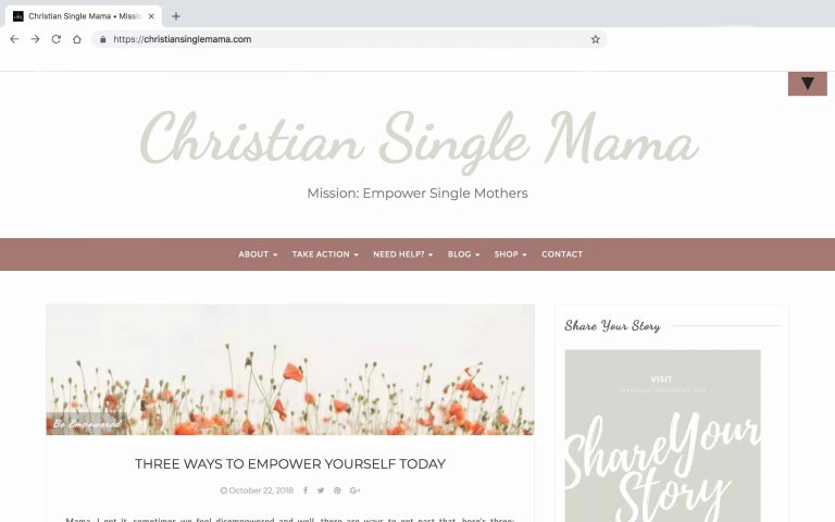 ChristianSingleMamaBlog