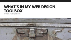 What's In My Web Design Toolbox