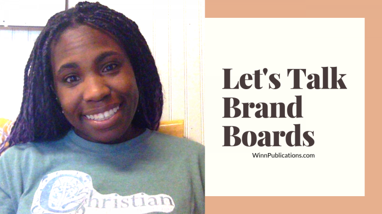 Let's Talk Brand Boards
