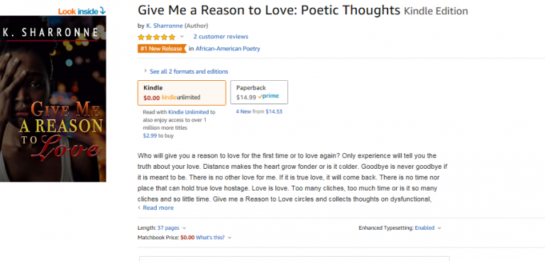 #1 New Release in African-American Poetry