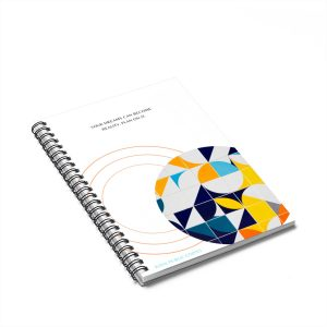 """YOUR DREAMS CAN BECOME A REALITY. PLAN ON IT."" Spiral Notebook – Ruled Line"