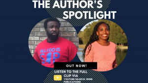 The Author's Spotlight With Author Lawerance Robinson