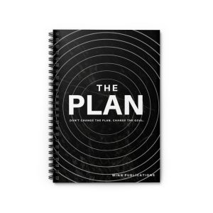 THE PLAN Spiral Notebook – Ruled Line