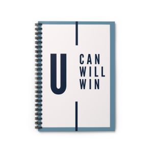 You Can You Will You Winn Spiral Notebook – Ruled Line