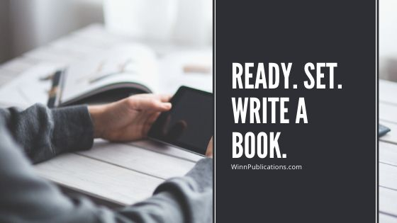 Ready. Set. Write a Book.