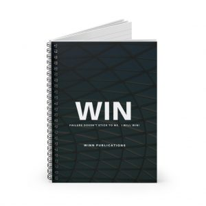 WIN Spiral Notebook – Ruled Line