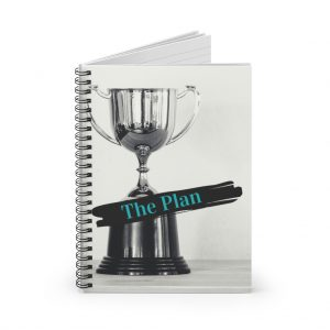 The Plan – Spiral Notebook – Ruled Line