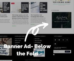 Banner Ad – Below The Fold
