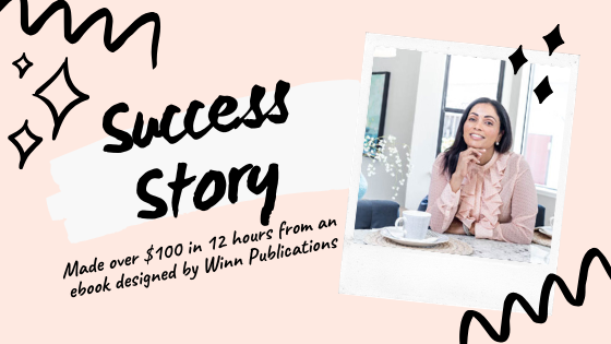 Success Story | This Winner made over $100 from a WP Designed ebook!