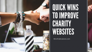Quick wins to improve charity websites